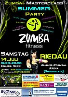 Zumba® Masterclass Summer Party 14.07.2012